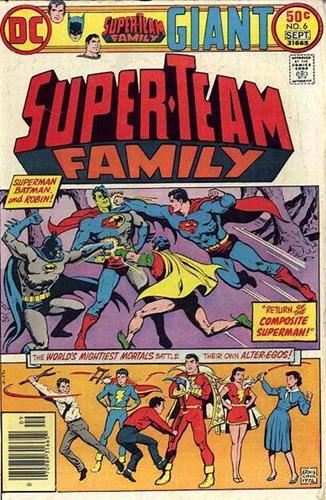 DC Comics Super-Team Family (1975 - 1978) Super-Team Family (1975) #6 Icon Thumb