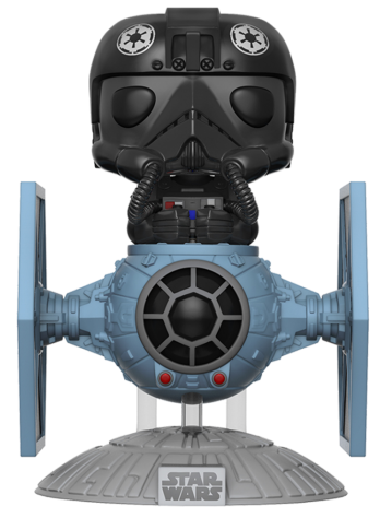 Funko Pop! Star Wars Tie Fighter Pilot (in Tie Fighter)