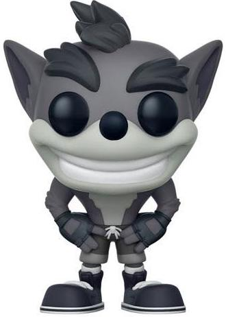 Funko Pop! Games Crash Bandicoot (B&W) - CHASE Icon