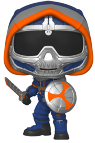Funko Pop! Marvel Taskmaster (w/ Shield) Icon Thumb