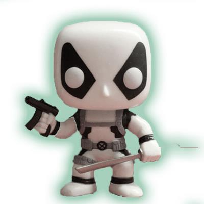 Funko Pop! Marvel Deadpool (Black & White) (Glow in the Dark)