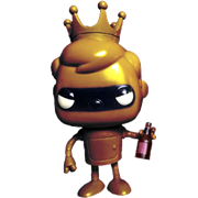 Funko Pop! Freddy Funko Bender (Gold)