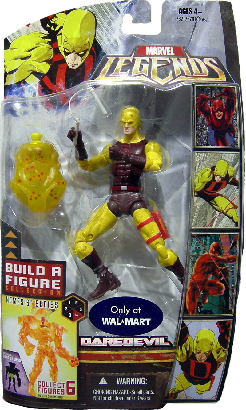 Marvel Legends Nemesis Series Daredevil (Yellow Variant)