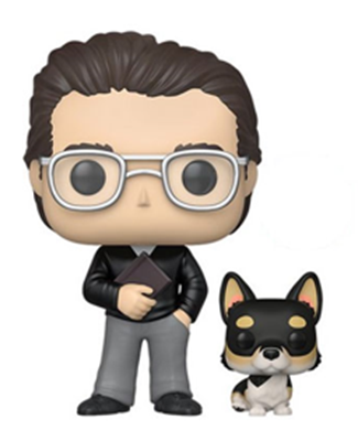 Funko Pop! Icons Stephen King with Molly aka The Thing of Evil