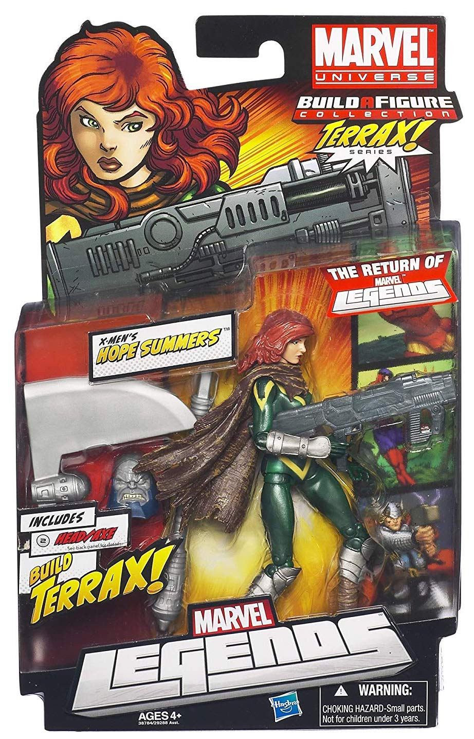 Marvel Legends Terrax Series Hope Summers