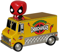 Funko Pop! Rides Deadpool's Chimichanga Truck
