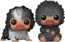 Funko Pop! Fantastic Beasts Niffler Babies (Gray)