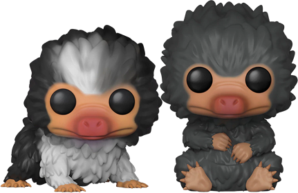 Funko Pop! Fantastic Beasts Niffler Babies (Gray) Icon