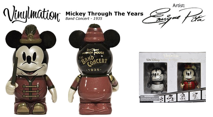 Vinylmation Open And Misc Mickey Through the Years The Band Concert - 1935