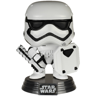 Funko Pop! Star Wars First Order Stormtrooper (Riot Gear)