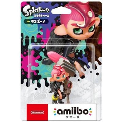 Amiibo Splatoon Octoling Boy Stock