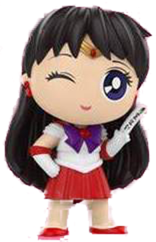 Mystery Minis Sailor Moon Sailor Mars (Posed)