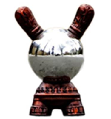 Kid Robot Special Edition Dunny Red Crystal Ball Stock