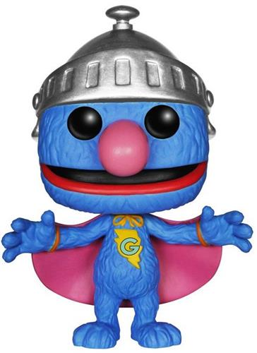 Funko Pop! Sesame Street Super Grover (First to Market)
