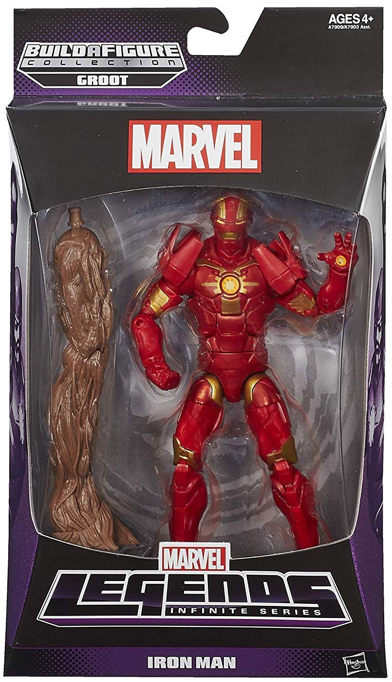 Marvel Legends Groot Series Iron Man
