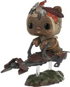 Funko Pop! Star Wars Ewok w/ Speeder Bike