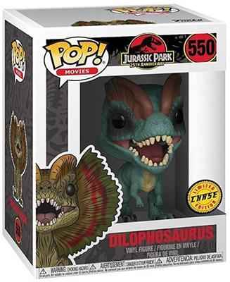 Funko Pop! Movies Dilophosaurus (Chase) Stock