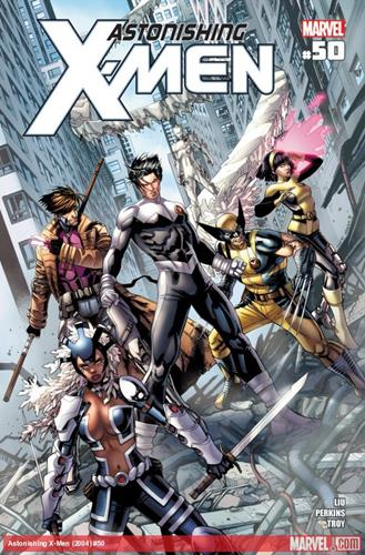 Marvel Comics Astonishing X-Men (2004 - 2013) Astonishing X-Men (2004) #50