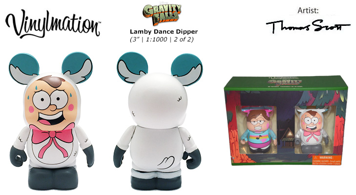 Vinylmation Open And Misc Gravity Falls Lamby Dance Dipper