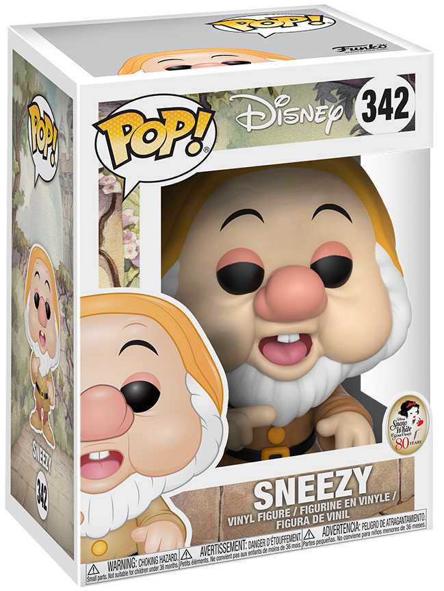Funko Pop! Disney Sneezy Stock Thumb