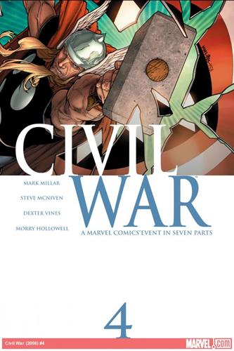 Marvel Comics Civil War (2006 - 2007) Civil War (2006) #4