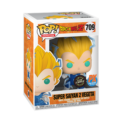 Funko Pop! Animation Super Saiyan 2 Vegeta (Chase) (Glow in the Dark) Stock Thumb