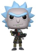 Funko Pop! Animation Rick (Weaponized)