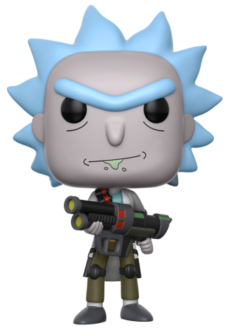 Funko Pop! Animation Rick (Weaponized) Icon