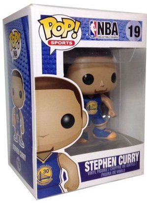 Funko Pop! Sports Stephen Curry Stock