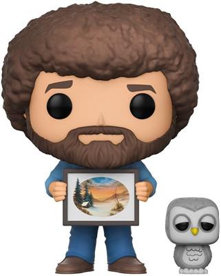 Funko Pop! Television Bob Ross (w/ Hoot) - CHASE