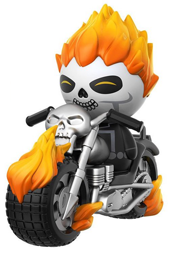 Dorbz Dorbz Ridez Ghost Rider (w/ Motorcycle) Icon Thumb