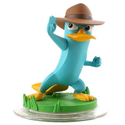 Disney Infinity Figures Phineas and Ferb Agent P
