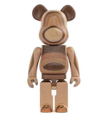 Be@rbrick Karimoku Layered Wood 1000%