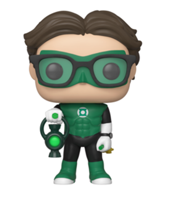 Funko Pop! Television Leonard Hofstadter as Green Lantern
