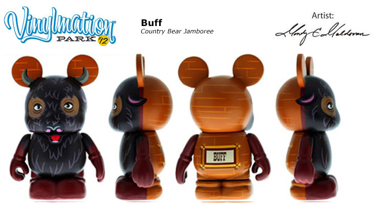 Vinylmation Open And Misc Park 12 Buff