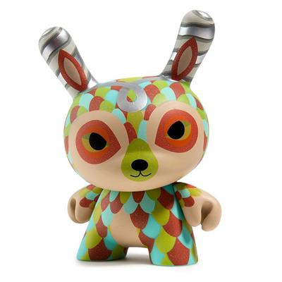 "Kid Robot 5"" Dunnys Curly Horned Dunnylope (Beige)"