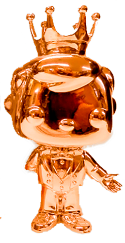 Funko Pop! Freddy Funko Tuxedo Freddy (Chrome-Orange) Icon