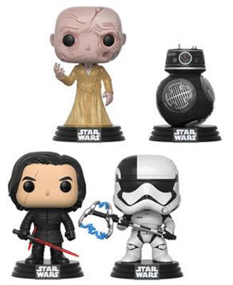 Funko Pop! Star Wars TLJ First Order (4-Pack)