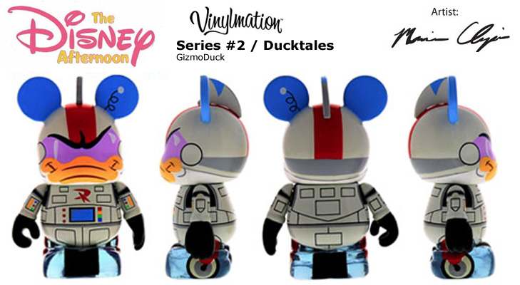 Vinylmation Open And Misc Disney Afternoon 2 GizmoDuck