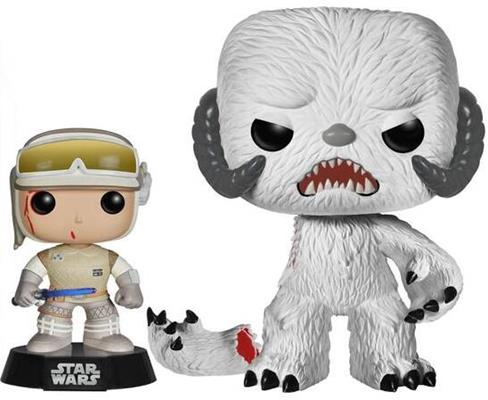 Funko Pop! Star Wars Luke Skywalker (Hoth) & Wampa