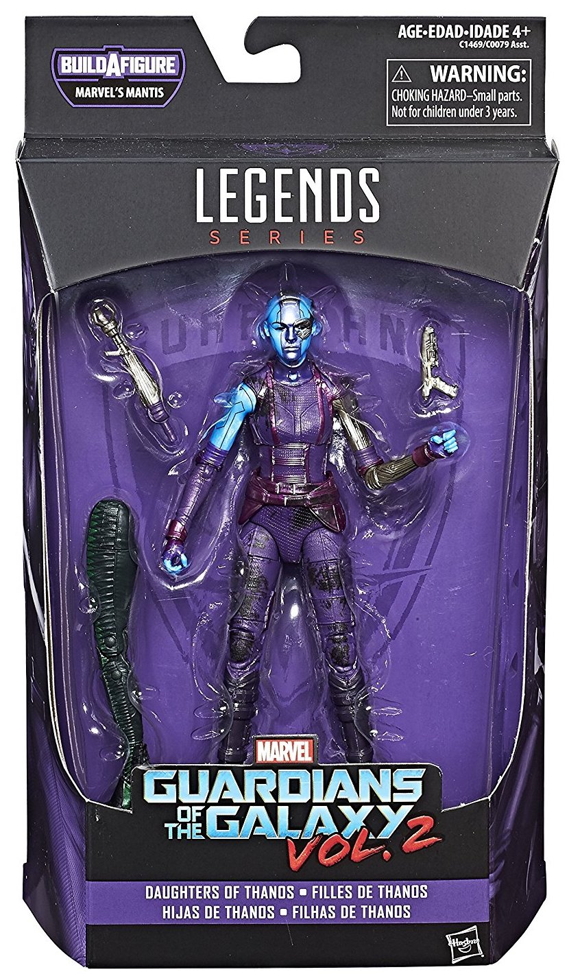 Marvel Legends Mantis Series Nebula