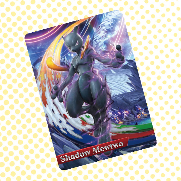 Amiibo Cards Shadow MewTwo
