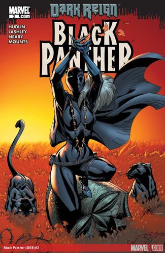 Marvel Comics Black Panther (2008 - 2010) Black Panther (2008) #3