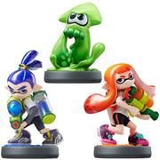 Amiibo Splatoon Inkling Girl/Squid/Boy (3-Pack)