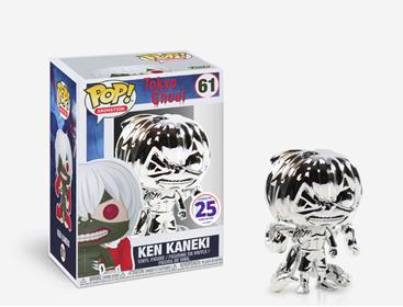 Funko Pop! Animation Ken Kaneki (Silver Chrome)