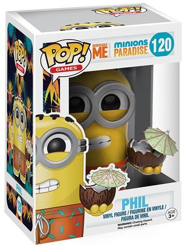 Funko Pop! Games Phil Stock