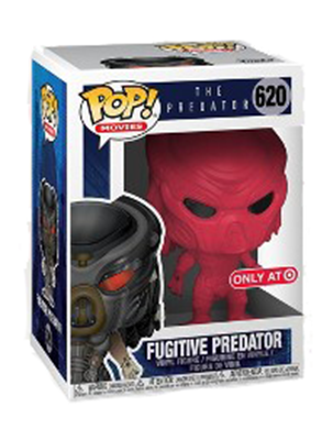 Funko Pop! Movies Predator (Fugitive) - Red Stock