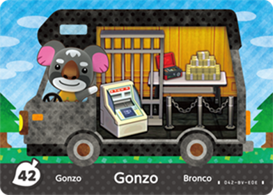 Amiibo Cards Welcome amiibo Gonzo Icon