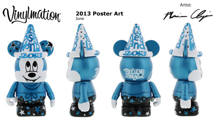 Vinylmation Open And Misc 2013 Poster Art June