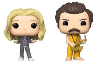 Funko Pop! Television Leslie and Ron Locked In - 2 Pack